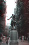 Paul Revere on Horseback, from front