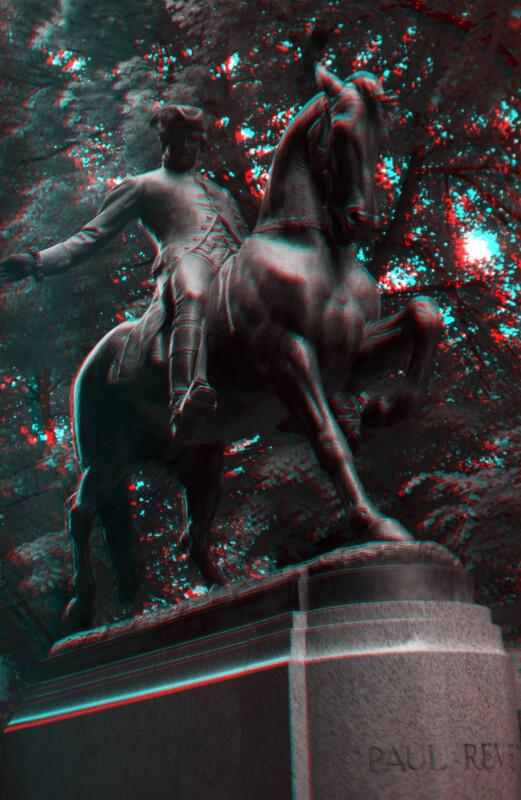 Paul Revere on Horseback