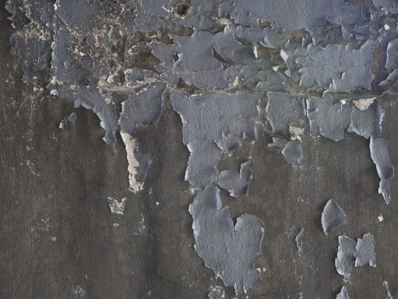 Peeling Grey Paint
