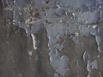 Peeling Grey Paint