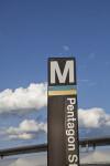 Pentagon Metro Station Sign