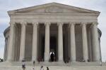 People In Front of Jefferson Memorial