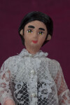 Philippines Male Doll with Painted Fabric Face (Close Up)