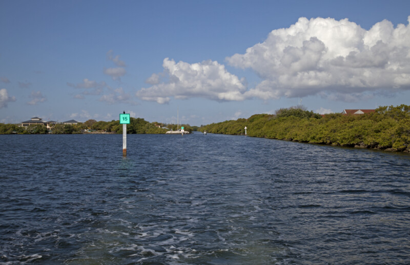 Photograph Taken From a Boat at Biscayne National Park