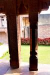 Pillars and Garden