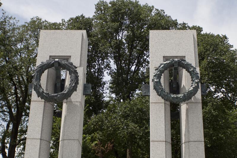 Pillars and Wreaths
