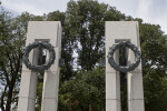 Pillars and Wreaths