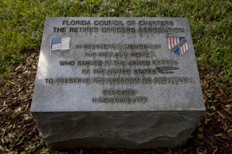 Plaque for American Veterans