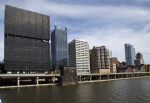 PNC Bank, Washington Plaza, and Oxford Centre in Downtown Pittsburgh
