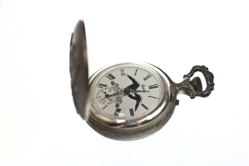 Pocket Watch with Eagle