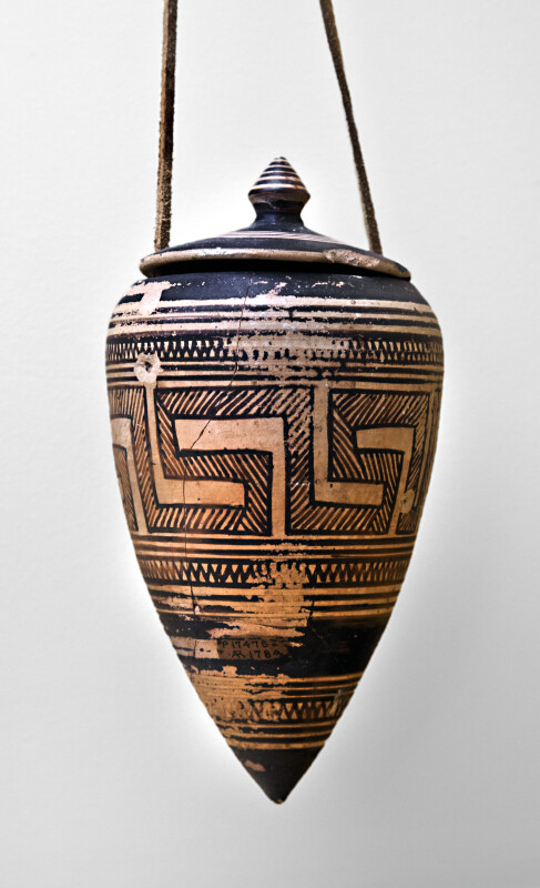 Pointed Pyxis with Lid