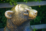 Polar Bear Bronze Detail