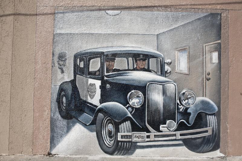 Police Mural