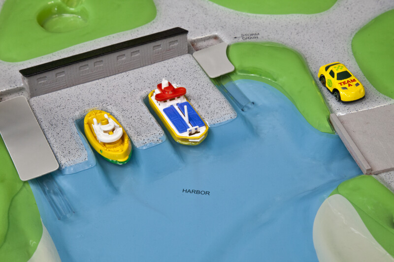 Port Facility of the Watershed Model