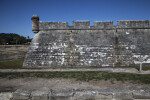 Portion of Castillo de San Marcos' Main Wall
