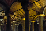 Portion of the Roof at the Basilica Cistern