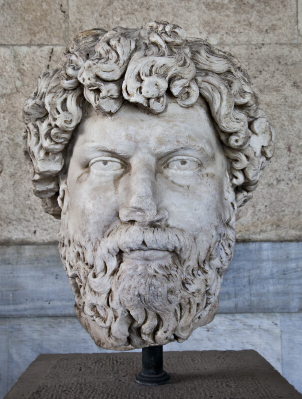 Portrait Head of Aelius Verus