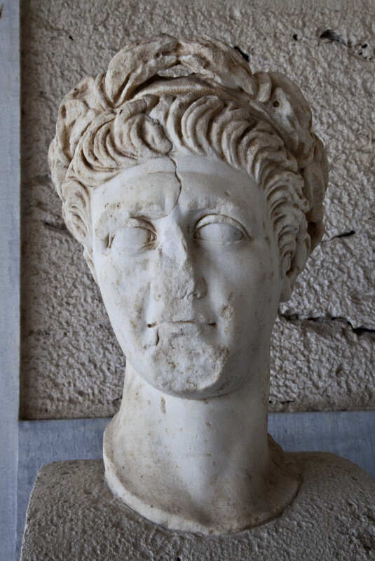 Portrait Head of the Emperor Trajan