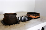Pots and Stove