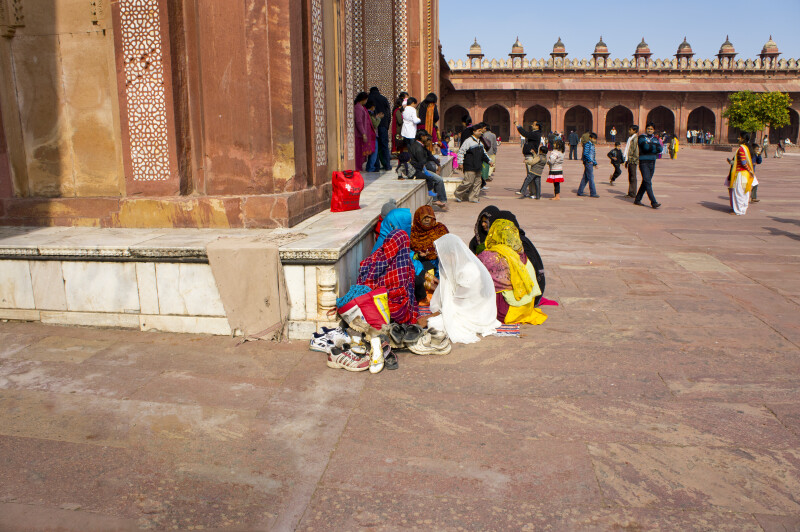 Prayer Outside the Jami Masjid