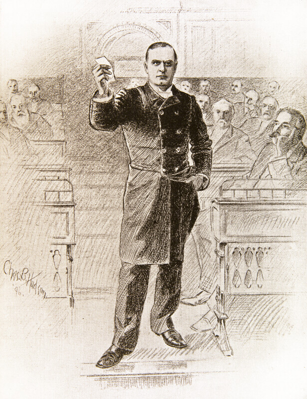 President McKinley Speaking
