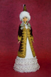 Princess Doll Wearing Cone-Shaped Hat (Full View)