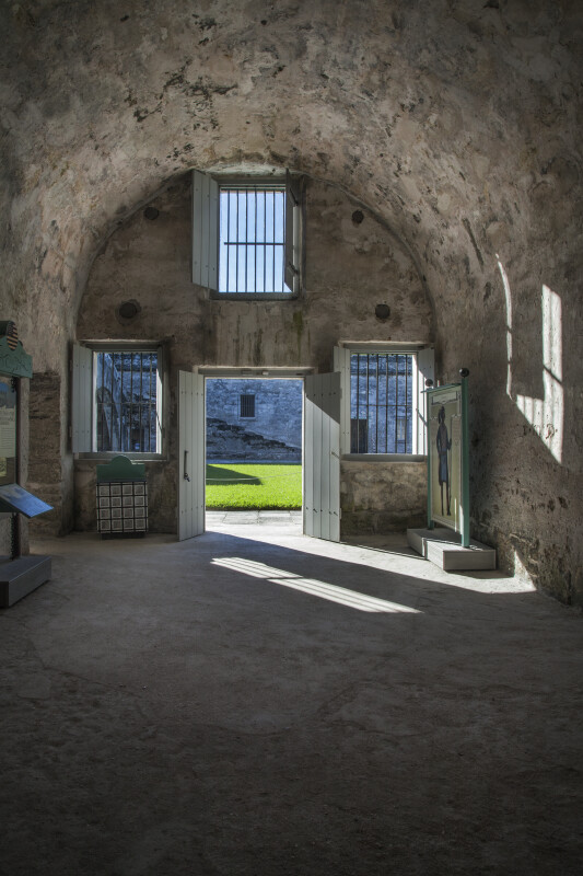 Prisoner's Chapel Room of the Castillo de San Marcos
