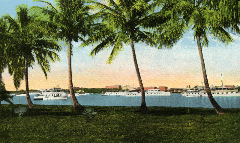 Private Yachts on Lake Worth