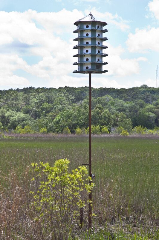 Purple Martin House on May's Prairie