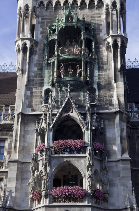 Rathaus-Glockenspiel at New Town Hall