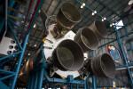 Rear of Saturn V Rocket