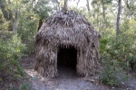 Reconstructed Native American Hut
