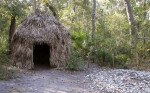 Reconstructed Timucuan Hut Along the Fort Caroline Nature Trail