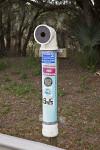 Recycling Bin at Myakka River State Park