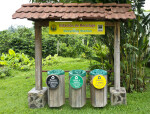Recycling Bins at the Doka Estate