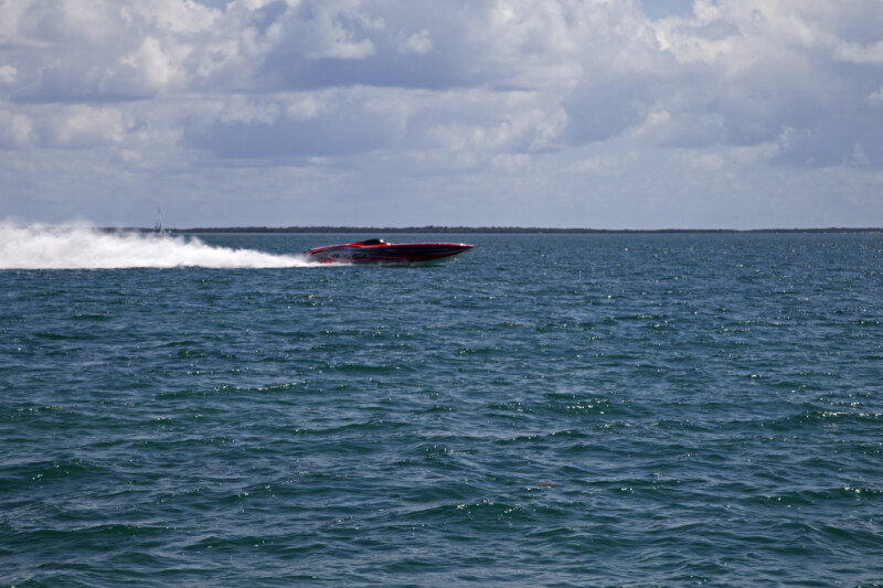 Red Speedboat