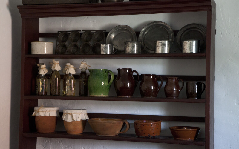 Redware, Tinware, and Baking Pans