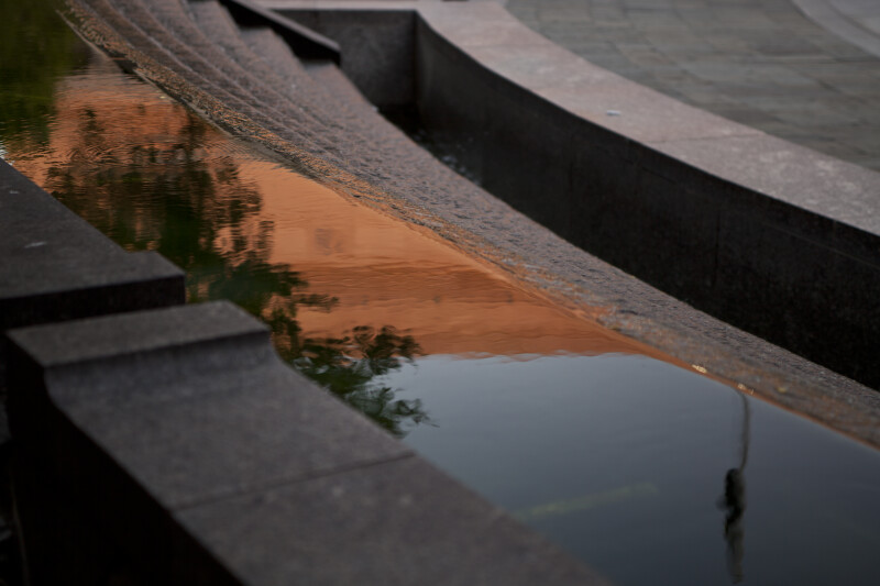 Reflections in Fountain
