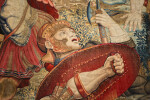 Resurrection Tapestry, Detail of Guard