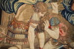 Resurrection Tapestry, Detail of Guards