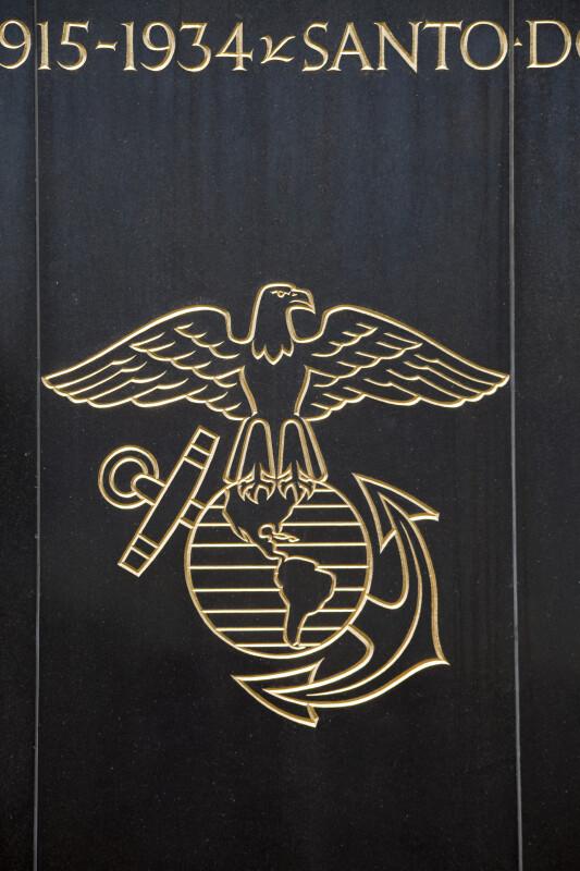 Reversed Marine Corps Emblem