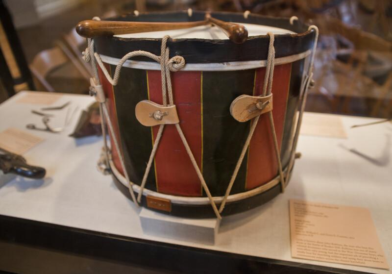 Revolutionary War Drum