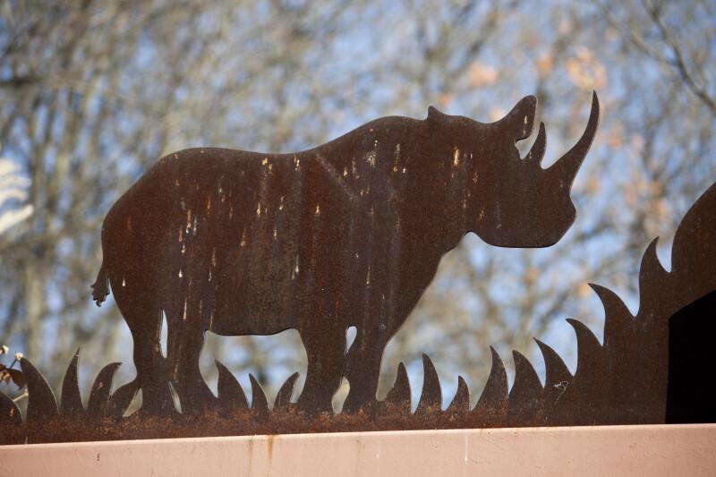 Rhinoceros Outline
