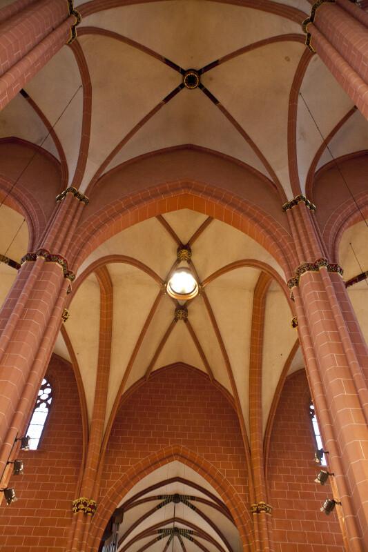 Ribbed Vaulting at Frankfurt Dom