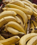Ripe, Yellow Bananas for Sale at Haymarket Square