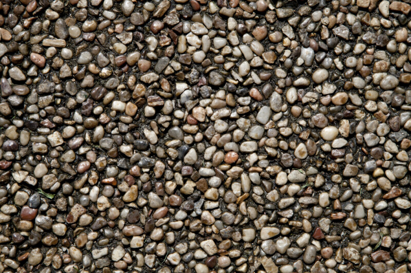 River Pebble Sidewalk