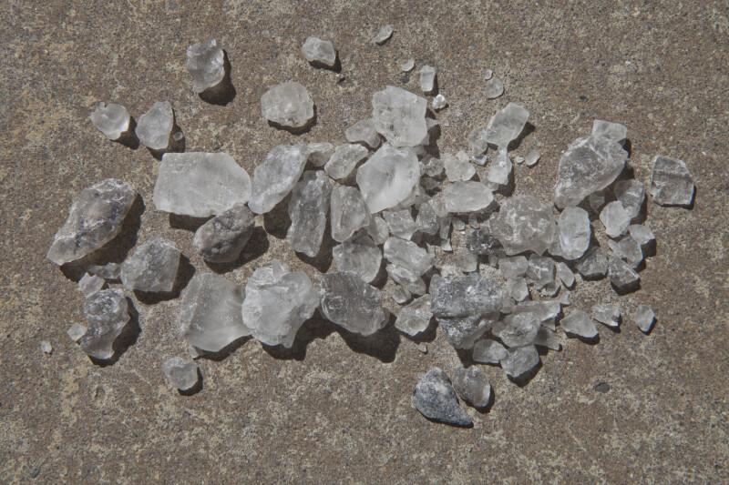 Road Salt Crystals