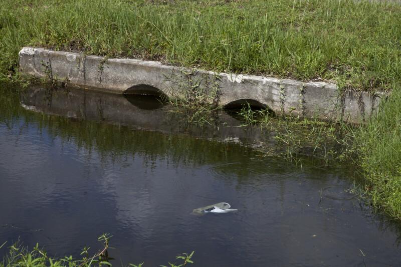 Roadside Drainage Ditch