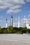 Rocket Garden from Outside