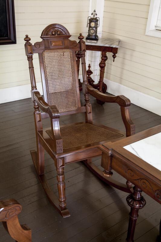 Rocking Chair at Luis Muñoz Rivera Home